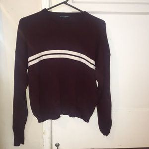 Brandy Melville maroon sweater